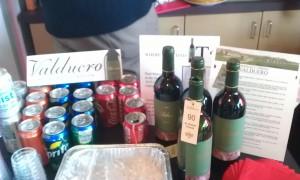 Great genuine Spanish wine sponsored by Valduero