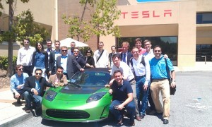 IESE Meets The Valley group at Tesla