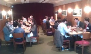 Our group at lunch with Dorsey&Whitney and Garage Technology Ventures