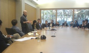 Our group with Randy Komisar from KPCB